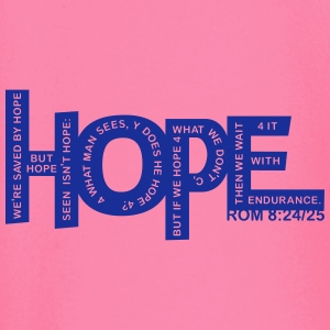HOPE - Rom 8 24 - 1 Color Vector Hoodies & Sweatshirts - Baby Long Sleeve T-Shirt