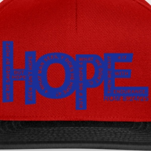 HOPE - Rom 8 24 - 1 Color Vector Hoodies & Sweatshirts - Snapback Cap