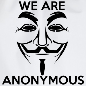 We are Anonymous - Drawstring Bag