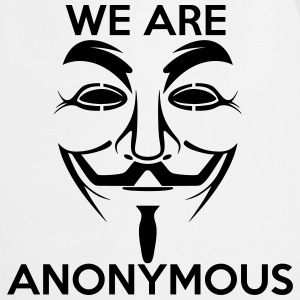 We are Anonymous - Cooking Apron