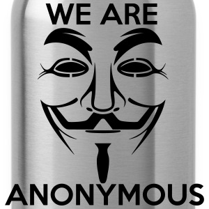 We are Anonymous - Water Bottle