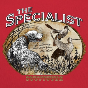 english setter specialist T-Shirts - Retro Bag