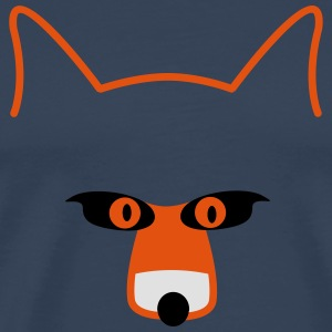 fox head Tanktoppar - Premium-T-shirt herr