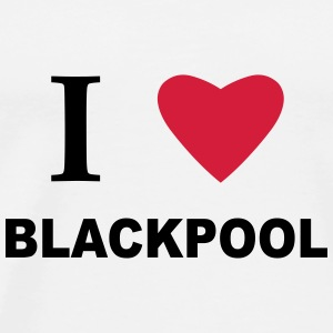 I Heart Blackpool Mugs & Drinkware - Men's Premium T-Shirt
