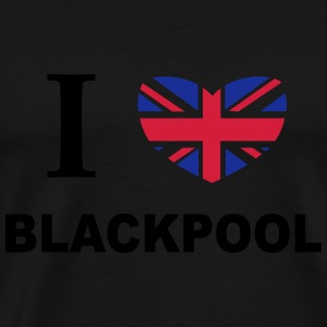 I Love Blackpool Hoodies & Sweatshirts - Men's Premium T-Shirt