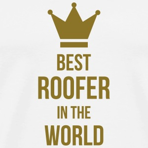 Roofer / Roof / Roofing / Couvreur / Dachdecker Mugs & Drinkware - Men's Premium T-Shirt