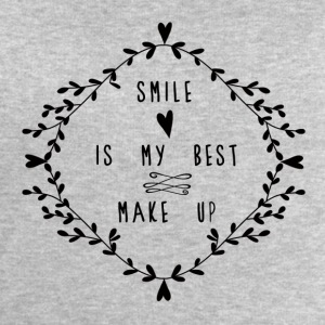 SMILE IS MY BEST MAKE UP Tops - Sudadera hombre de Stanley & Stella