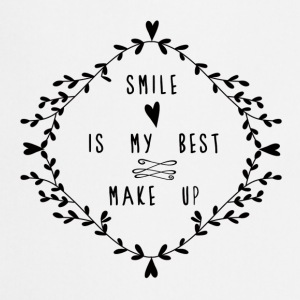 SMILE IS MY BEST MAKE UP Topper - Kokkeforkle