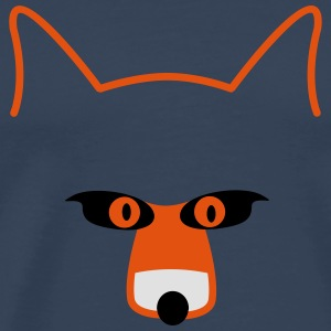 fox head Toppe - Herre premium T-shirt