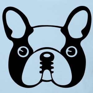 Caricature de Bouledogue - T-shirt Bio Enfant