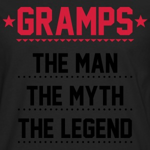 Gramps - The Man The Myth The Legend T-Shirts - Men's Premium Longsleeve Shirt