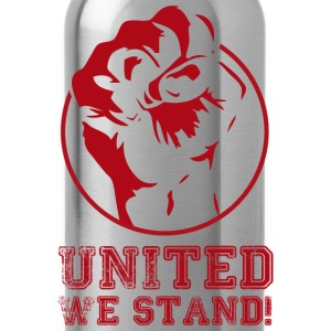 United we stand! - Trinkflasche