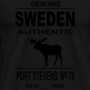 Sweden Moose Tabliers - T-shirt Premium Homme