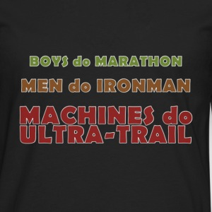 Machines do Ultra-Trail - T-shirt manches longues Premium Homme