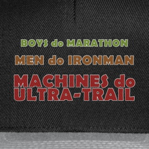 Machines do Ultra-Trail - Casquette snapback