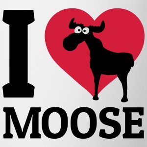 I love Moose Felpe - Tazza