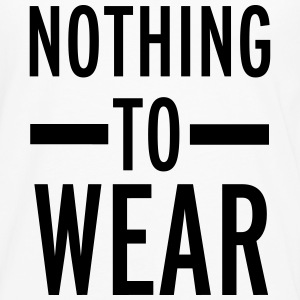 Nothing To Wear T-shirts - Långärmad premium-T-shirt herr