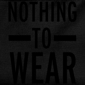 Nothing To Wear T-Shirts - Kids' Backpack
