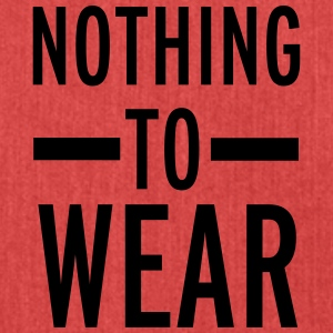 Nothing To Wear Tops - Schoudertas van gerecycled materiaal