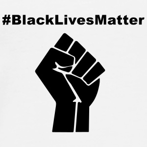 Black Lives Matter Mugs & Drinkware - Men's Premium T-Shirt