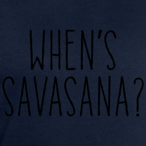 When's Savasana T-Shirts - Men's Sweatshirt by Stanley & Stella