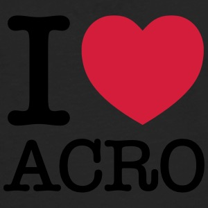I (Heart) Acro Tee shirts - T-shirt manches longues Premium Homme