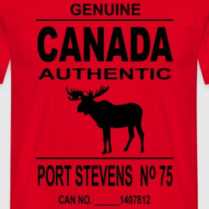 Canada Moose Tabliers - T-shirt Homme