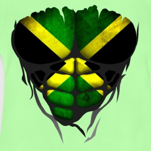 Jamaica flag torso body muscled abdos Shirts - Baby T-Shirt