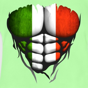 Italy flag torso body muscled abdos Shirts - Baby T-Shirt