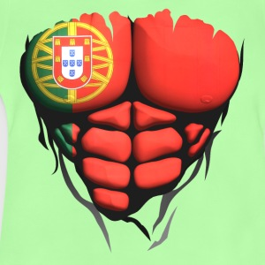 portugal flag torso body muscled abdos Shirts - Baby T-Shirt