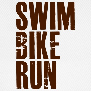 Swim Bike Run - Baseball Cap