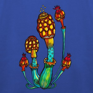 Magic Mushrooms, Psychedelic, Goa, Trance, Rave T-Shirts - Kids' Premium Hoodie
