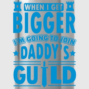 When I get bigger I'm going to join daddy's guild T-shirts - Vattenflaska