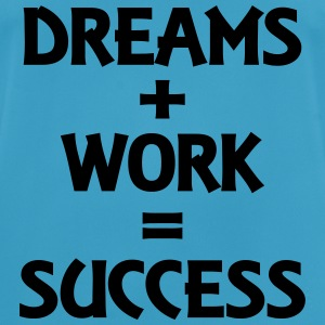 Dreams+Work=Success Tops - Men's Breathable T-Shirt