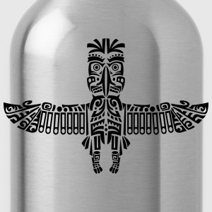 Indianer Tattoo T-Shirts - Trinkflasche