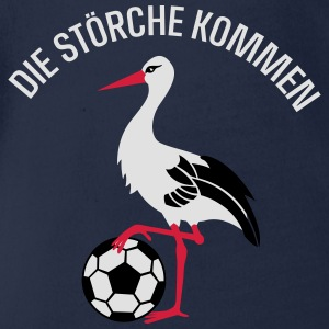 Storch Kiel T-Shirts - Baby Bio-Kurzarm-Body
