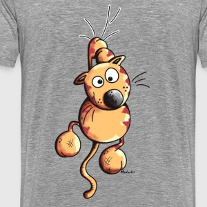 Sporty Cat Hoodies & Sweatshirts - Men's Premium T-Shirt