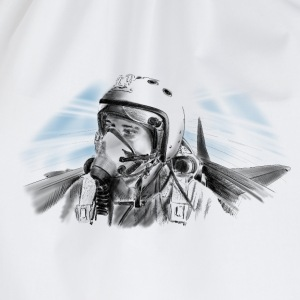 Fighter pilot T-shirts - Sportstaske