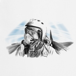 Fighter pilot T-shirts - Forklæde