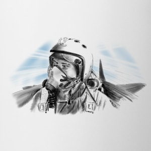 Fighter pilot T-shirts - Mugg
