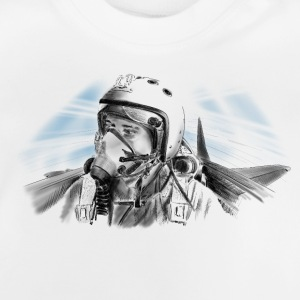 Fighter pilot Tee shirts - T-shirt Bébé