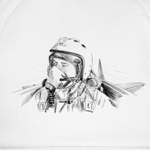 Fighter pilot ru Shirts - Baseball Cap