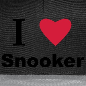 I Love Snooker T-Shirts - Snapback Cap