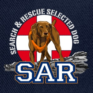 search and rescue dog 1 T-Shirts - Snapback Cap