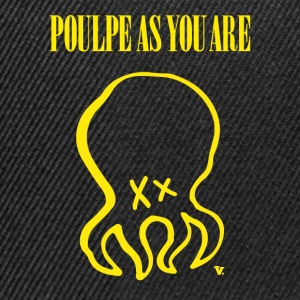 Poulpe As You Are - Casquette snapback