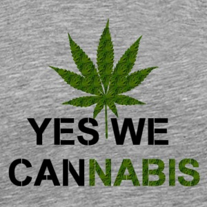 YES WE CANNABIS Sportbekleidung - Männer Premium T-Shirt