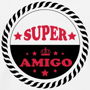 Super amigo Mugs & Drinkware - Men's Premium T-Shirt