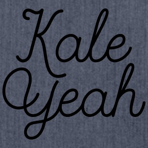 Kale Yeah T-Shirts - Schultertasche aus Recycling-Material