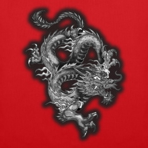 dragon half stone v2 by D Tee shirts - Tote Bag