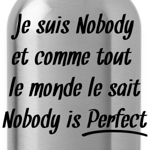 Nobody is perfect Tee shirts - Gourde